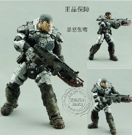 NECA <font><b>GEARS</b></font> <font><b>OF</b></font> <font><b>WAR</b></font> <font><b>2</b></font> <font><b>MARCUS</b></font> <font><b>FENIX</b></font> <font><b>Action</b></font> Figures boys hobby toys games collectable 7