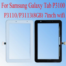 цена на New For Samsung Galaxy Tab 2  P3100 P3110 LCD Tablet Touch screen Digitizer panel Sensor Glass Lens Panel 7'' inch+tools