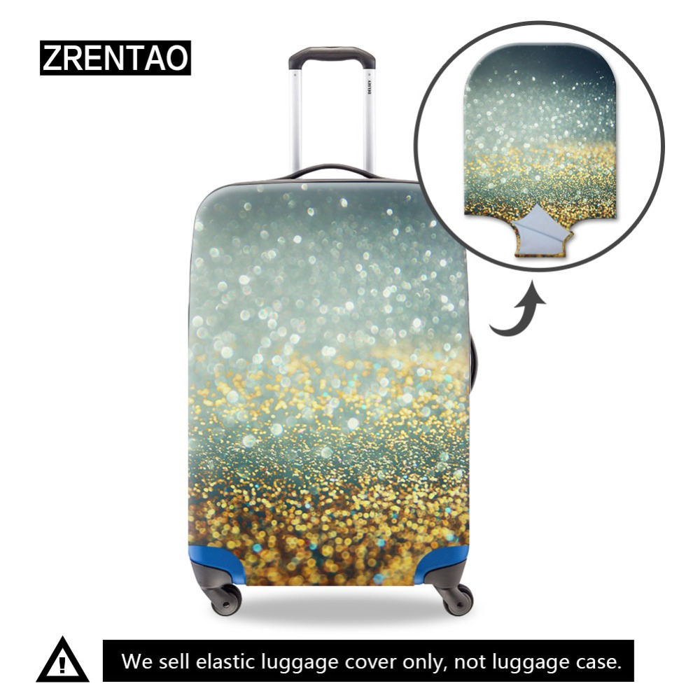 Vegetable Fruit Design Travel Suitcase Protector Anti-scratch Washable Dust Thicken Elasticity Cover Travel Luggage Cover