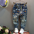 Children's 2016 Fall in The Fall of Jeans Boys Pants  A pair of jeans