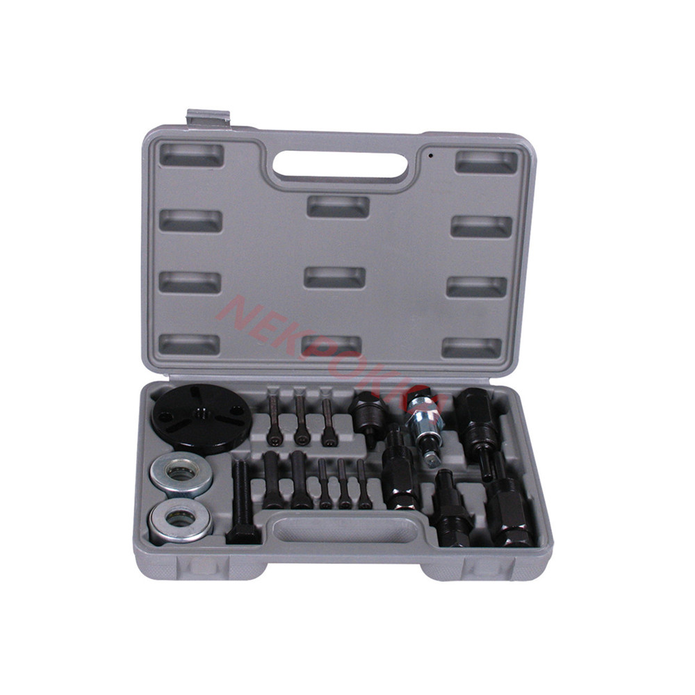 A/C Compressor Clutch Remover Installer Puller,Air Conditioning Tools,Dismounting Compressor Clutch