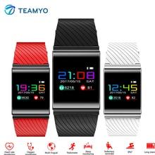 Teamyo X9 Pro Цвет OLED умный Браслет Часы Приборы для измерения артериального давления сердечного ритма Мониторы смарт-браслет Фитнес браслет Smart Band