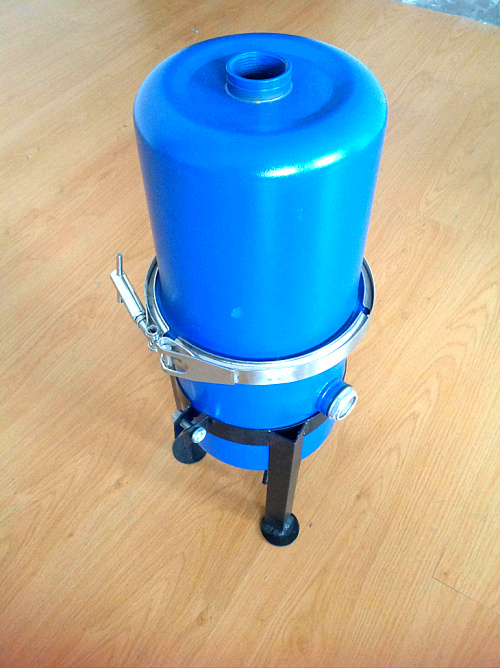 Vacuum pump gas water separator, gas-liquid separator oil-water vacuum filter, 2' outlet and inlet