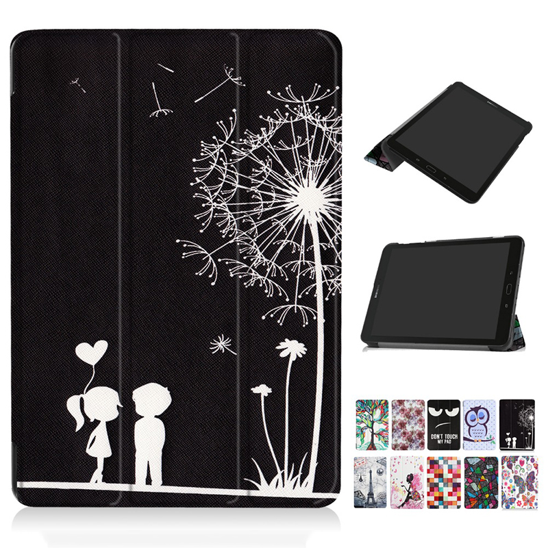 For Samsung Galaxy Tab S3 9.7 T820 T825 Flip Smart Pu Leather Case For Samsung 9.7