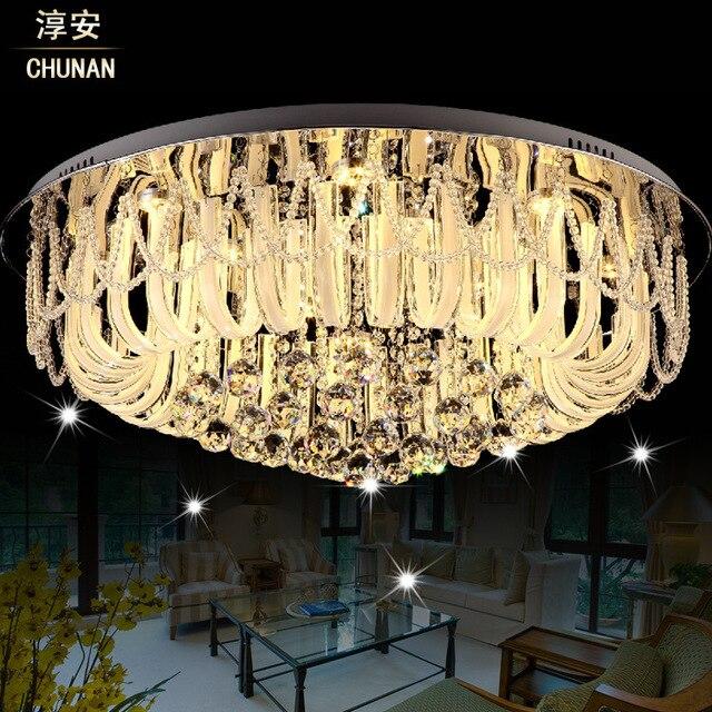 lampara techo luces llevaron para casas modernas lmparas de techo de cristal plafon lampara iluminacin llevada with luces de leds para casa