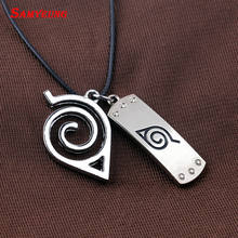 Naruto Leather Chain Pendent