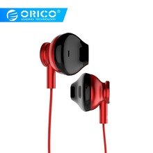 ORICO In Ear Wired Earphone Sport Stereo  Noise Isolating Hifi Sport Auriculares With MIC For Samsung Xiaomi qkz dm600 earphones 100% original sport in ear earphone with mic 3 5mm hifi stereo noise isolating fone de ouvido auriculares