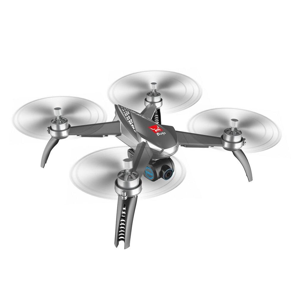 Профессиональный Drone MJX ошибки 5 Вт 5 Вт gps бесщеточный Quadcopter с 1080 P Wi Fi FPV Камера автоматический возврат RC вертолет VS Hubsan H501S