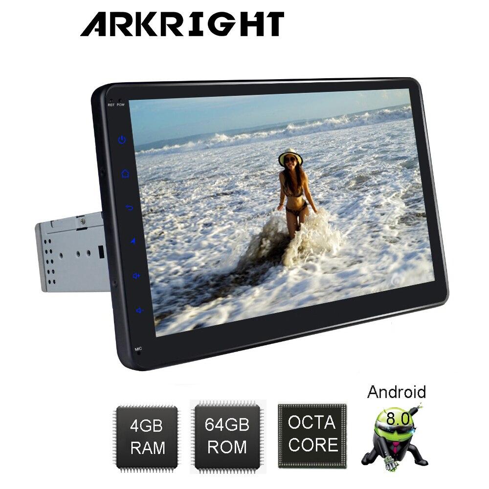 Новые 10 ''1 Din 4 ГБ ОЗУ 64 ГБ Flash PX5 восемь ядер Универсальный Автомобильный головное устройство Android 8,1 автомобилей Радио Стерео Аудио мультимед...