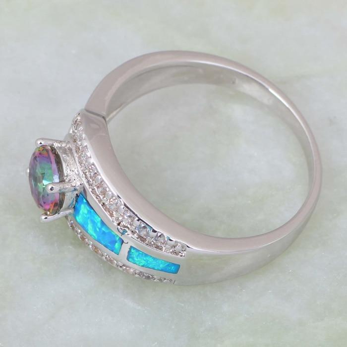 Mode smycken Pink Rainbow Mystic Cubic Zirconia 925 Sterling Silver - Märkessmycken - Foto 4