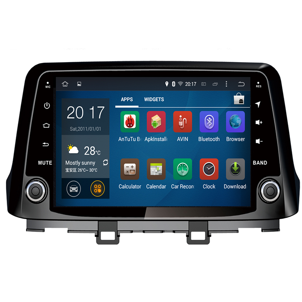 Android 10 Octa Core PX5 Fit Hyundai KONA 2017 2018 2019 Car DVD Player Navigation GPS Radio