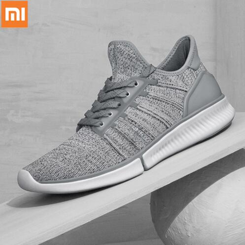 En stock!! Xiaomi Mijia chaussures de course intelligentes sport professionnel mode IP67 étanche Support puce intelligente (non inclus)