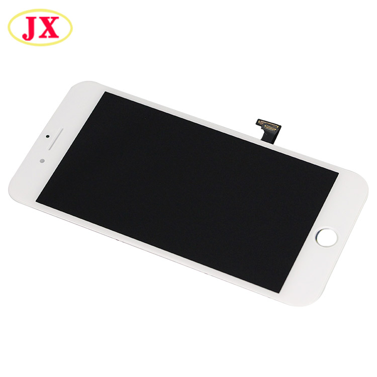 Jx-Liquid crystal display Grade Aaa 5.5 Inch Black White For Iphone eight Plus Liquid crystal display Show With Contact