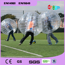 Good factory price!1.5m human inflatable bumper ball/bubble football/soccer bubble ball/body zorb ball/human humster ball