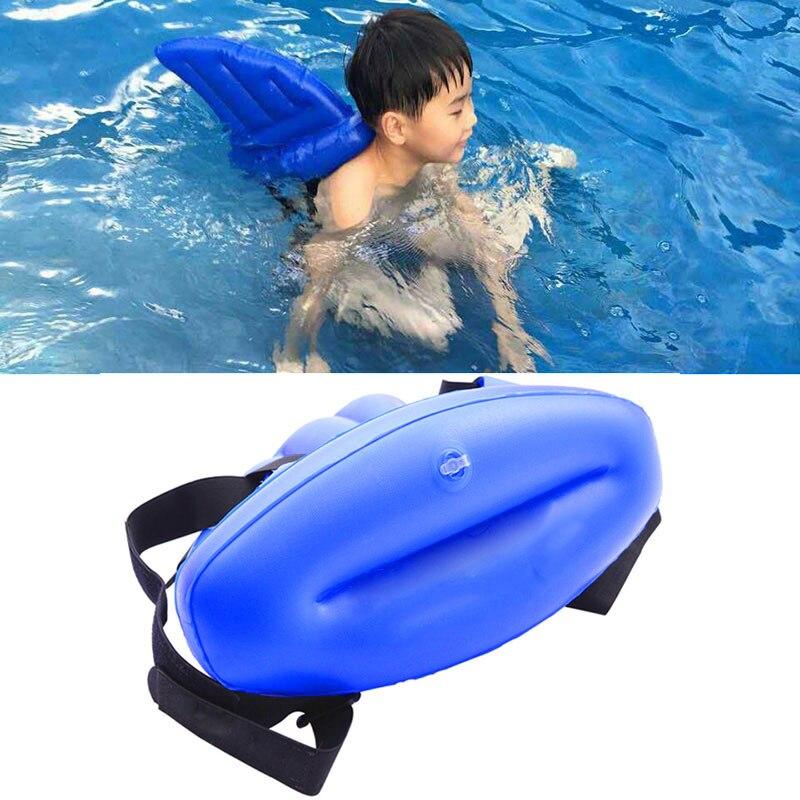 Kinder spielzeug lernen zu schwimmen artefakt shark fins nachahmer aufblasbare kinder schwimmen pool Leben boje schwimmt schwimmen ringe