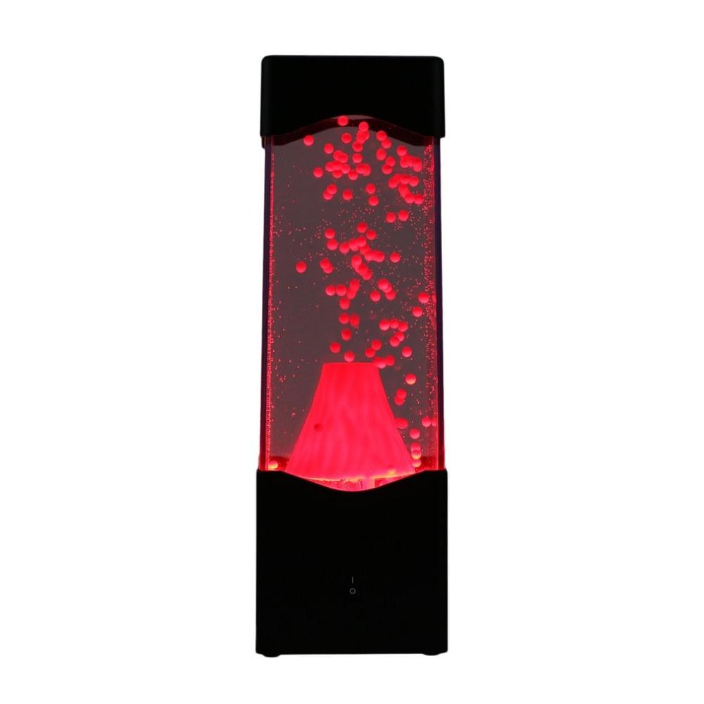 del acuario del tanque agua LED volcán del Erupción bola del JFKTl1c3