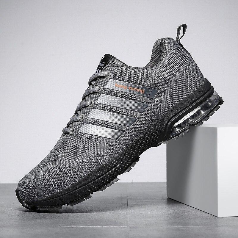Hot Sale Running Shoe Men Outdoors Sneakers Summer Footwear Lightweight Unisex Breathable Walking Mesh Fly Weave Men Sport Shoes