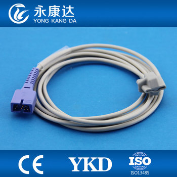 2pcs/pack Free shipping 7pin Direct Reusable Pediatric soft tip spo2 sensor,3m medical TPU cable