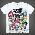 Anime trajes de Cosplay Magi Judal y Aladdin Imprimir Camisetas de Los Hombres Divertidos de la camiseta de Manga Corta Tops Casual Tees