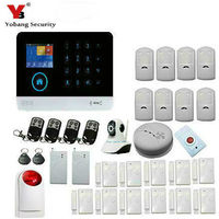 YobangSecurity WIFI 3G WCDMA CDMA Home Alarm Security System With Wifi IP Camera Motion Door Window