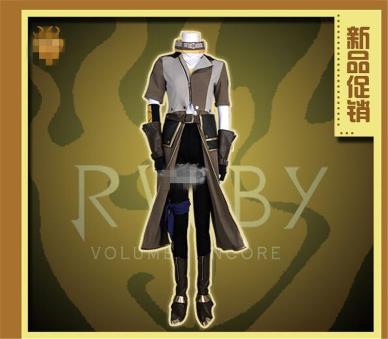 Amine RWBY Season Four Yang Xiao Long Cosplay Costume Woman Man Suits Hot Sale Custom Made Clothing