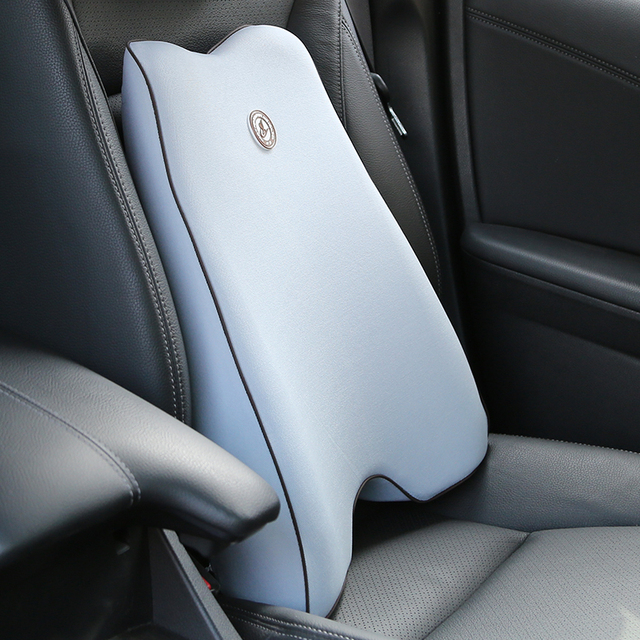 Seat Support Car Memory Cotton Waist Pillow Office Chair Massage Back Lumbar Automobiles Vehicle Driver