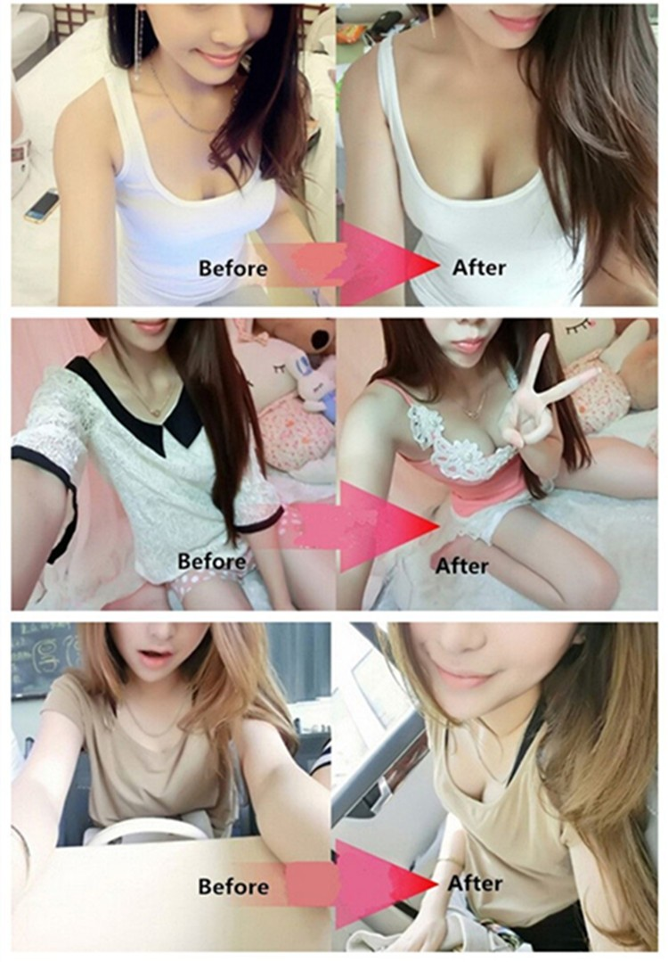 Sexy Adhesive Bra Backless Strapless Thicken Bras To Make Bigger Cups Seamless Invisible Bras For Women Wedding Party Underwear 17