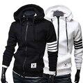 Men's Slim Loose Hoodie Warm Hooded Sweatshirt Coat Jacket Outwear