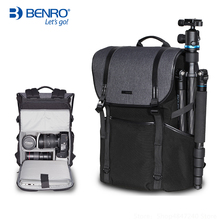 лучшая цена Benro Novelty B100 B200 B300 Professional Backpack Waterproof Laptop Backpack DSLR Camera Bag Protection Type Digital Camera Bag