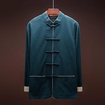 Ropa informal japonesa para hombre cazadora prendas de vestir exteriores hombre dragon kimono chaqueta ropa de invierno para hombres 2018 KK2402
