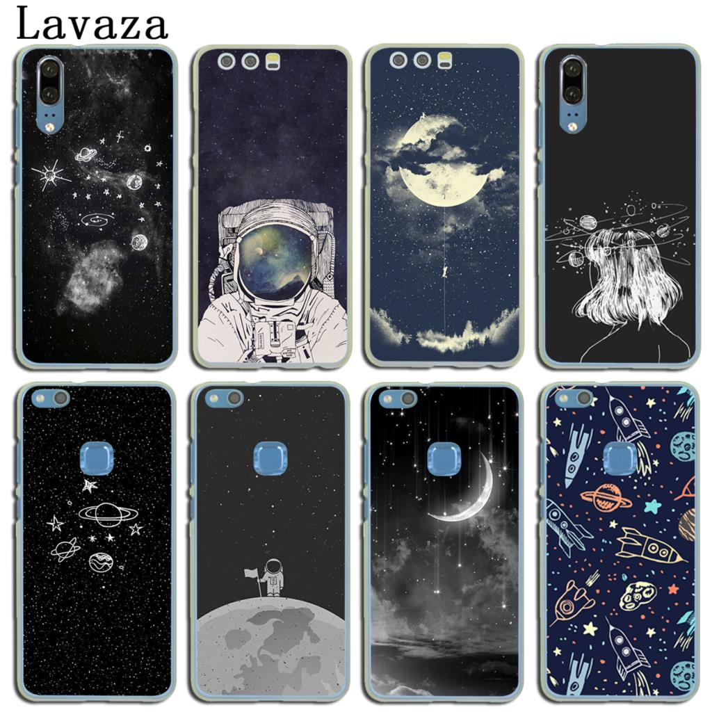 Cellphones & Telecommunications Hospitable Lavaza Space Love Sun And Moon Star Drawing Case For Huawei P20 P10 P9 Plus P8 Mate 20 Pro 10 Lite Mini 2016 2017 P Smart 2019 Agreeable Sweetness Half-wrapped Case