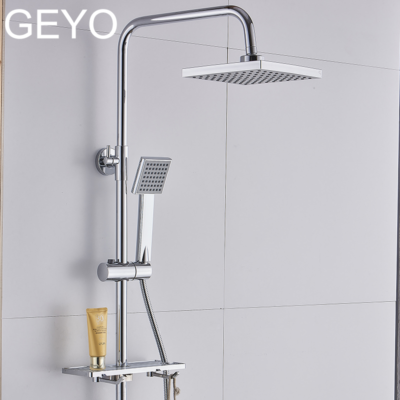 Removable Water Restrictor Wall Mount Showerhead Polished Chrome SARLAI 6 Inch High Velocity Flow Hotel Shower Head Rainfall