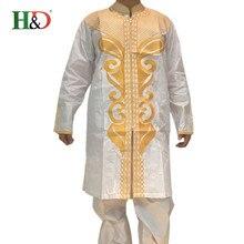 Африки riche () базен африканских dashiki вышивка человек стиль хлопок костюм