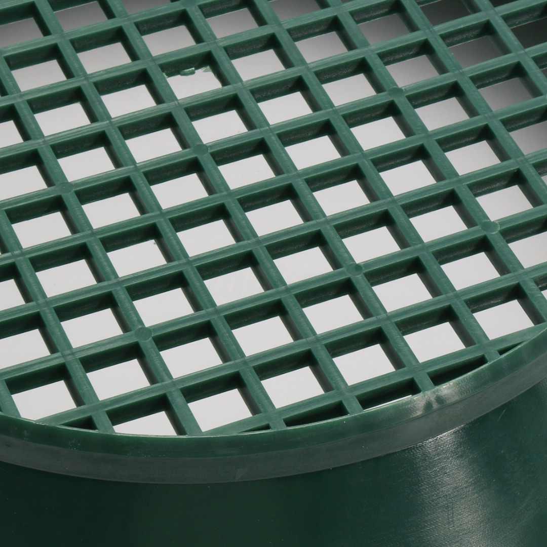 Щетка для мытья просеивания, классификатор, Золотая кастрюля, классификатор, сетчатый экран, горное просеивание, металлические инструменты для обнаружения, пластиковый зеленый чехол для раковины