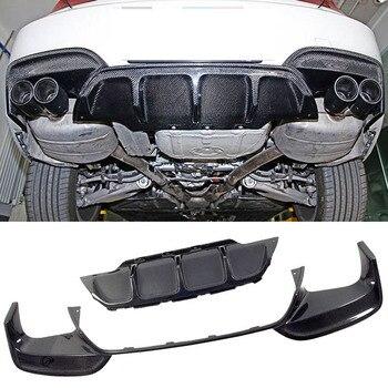 Z włókna węglowego tylny dyfuzor nadające się do BMW serii 6 F06 F12 F13 M6