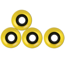 Free Shipping 60 x 45mm Smooth Bearings 4pcs Skateboard Wheels Outdoor Riding Durable Longboard Skateboard Wheel
