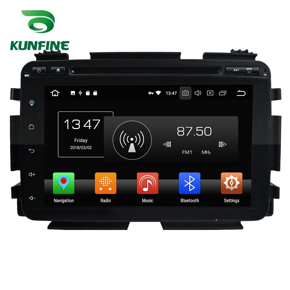 Восьмиядерный 4 ГБ Оперативная память Android 8,0 автомобиль DVD gps навигации мультимедийный плеер стерео для HONDA HRV/VEZEL 2015 2018 Радио головного устро