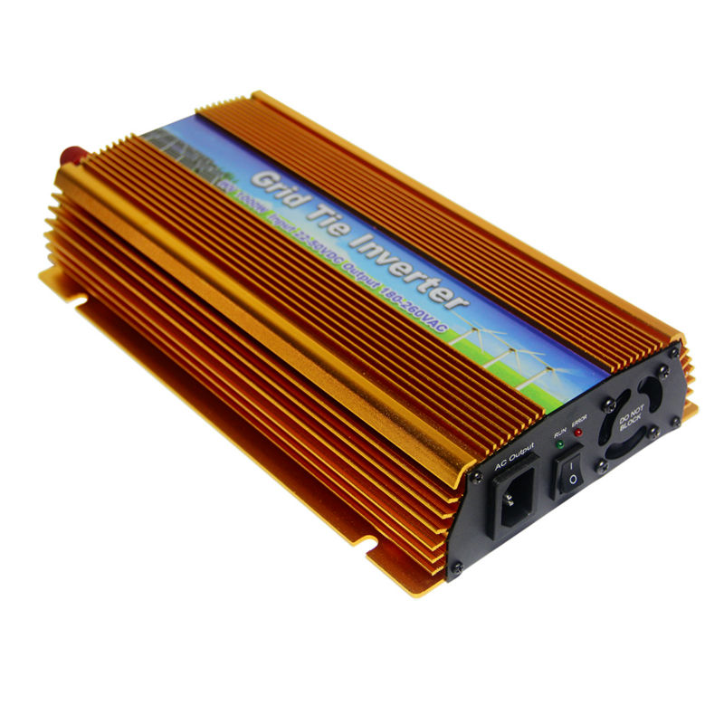 MAYLAR@ 22-50VDC 1000W Solar Grid Tie Inverter with MPPT, Output 90-140V.50hz/60hz Pure Sine Wave Power Inverter maylar 22 60v 300w solar high frequency pure sine wave grid tie inverter output 90 160v 50hz 60hz for alternative energy