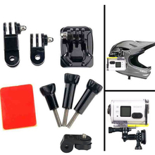 Accessories For Sony Action Cam Curved Base and Tripod Screw Helmet Mount For HDR-AS100VA AS30V ction Sport Camera
