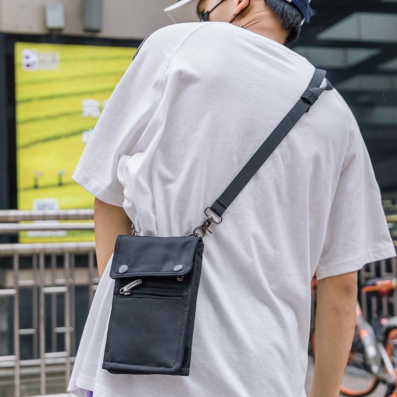 2019 Luxury Unisex Women Men Bag Cell Phone Handbag Wallet Hanging Neck Lanyard Strap Small Shoulder Messenger Crossbody Bags