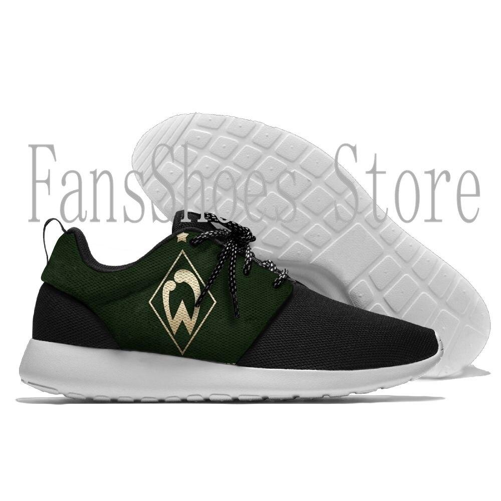 Mens and womens  Sneaker Lightweight Werder Bremen beatiful light Cool Comfort Sports Running ShoesMens and womens  Sneaker Lightweight Werder Bremen beatiful light Cool Comfort Sports Running Shoes