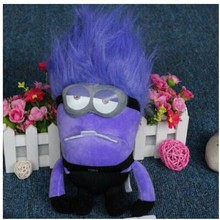 Free shipping 30cm Small Purple People Daddy Purple Minions Plush font b Toys b font Purple