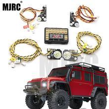 LED الأمامي/الخلفي و IC المصابيح الأمامية ل 1/10 تسلق سيارة TRAXXAS Trx4 TRX 4 الربط ضوء الفرامل القيادة النهار تشغيل أضواء