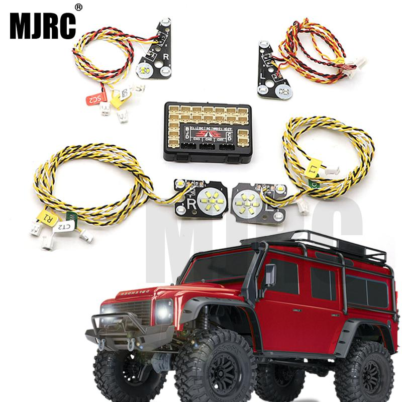 LED Front/rear And IC Headlights For 1/10 Climbing Car TRAXXAS Trx4 TRX-4 Linkage Light Steering Brake Daytime Running Lights