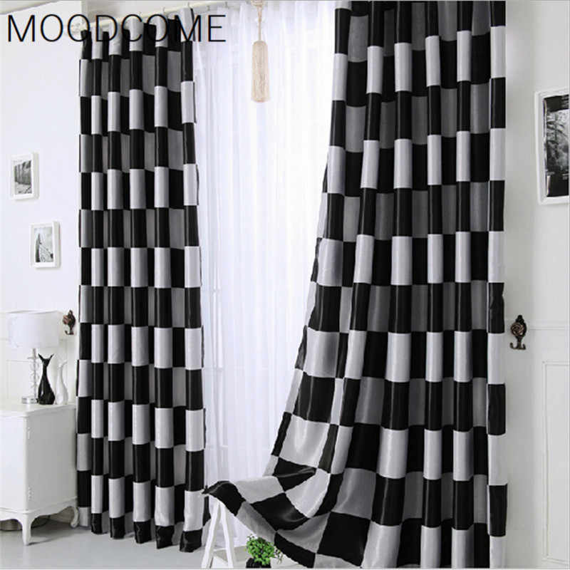 High-end Curtains for Living Room Bedroom Study Thickened Double Knit Jacquard Modern Minimalist Custom Shading Curtain Fabric