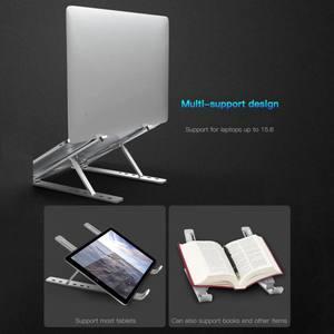 Image 4 - נייד נייד דוכן נייד סוגר אלומיניום סגסוגת התאמת מעלית מדף יכול להיות מאוחסן מחשב תיק