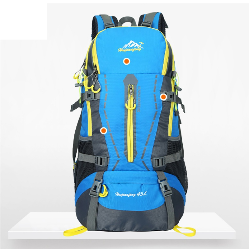 2017 45L Large Capacity Outdoor Camping Climbing Hiking Backpack Sport Packs Rucksack Waterproof Women&Men Travel Backpack  New large capacity women men outdoor bags climbing hiking camping backpack rucksacks travel sport bag high quality 8 colors
