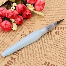 1PC Pilot Ink Pen Water Brush Watercolor Tools For Calligraphy Drawing Painting ottwn 1pc soft hair writing brush black ink for calligraphy practice watercolor fountain pen painting drawing tool school supply