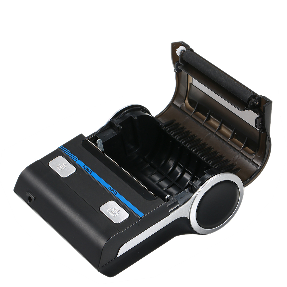 Portable Mini Wireless Thermal 80mm High BT Quality Printer Receipt Printer for Mobile Portable Environmental Label Printer цена