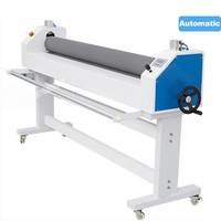 Fully Automatic DWS 1680C Pneumatic Laminating Machine Silicone Anti adhesive Low Temperature Film KT Plate Electric